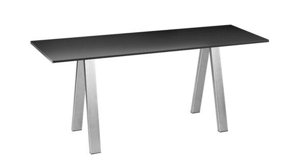 Tisch Chicago 1,80m schwarz outdoor 1