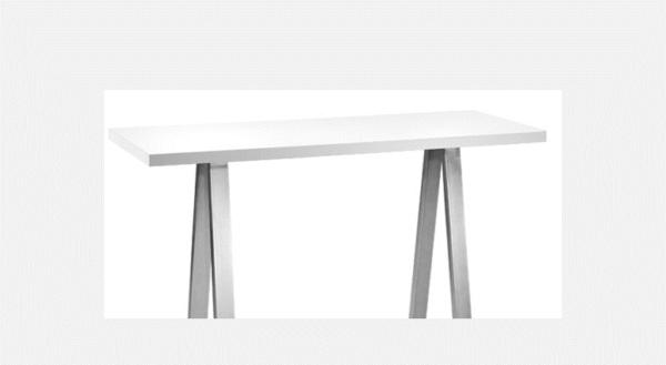Tisch Chicago 1,80m weiß 2